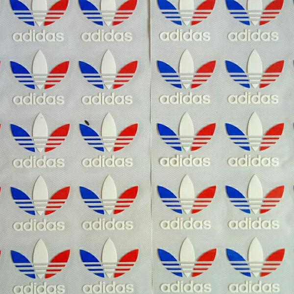 硅胶鞋材商标转印