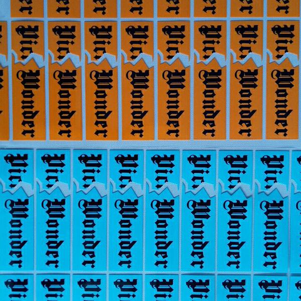 硅胶手袋商标转印